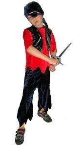 Карнавальный костюм разбойника для мальчика своими руками